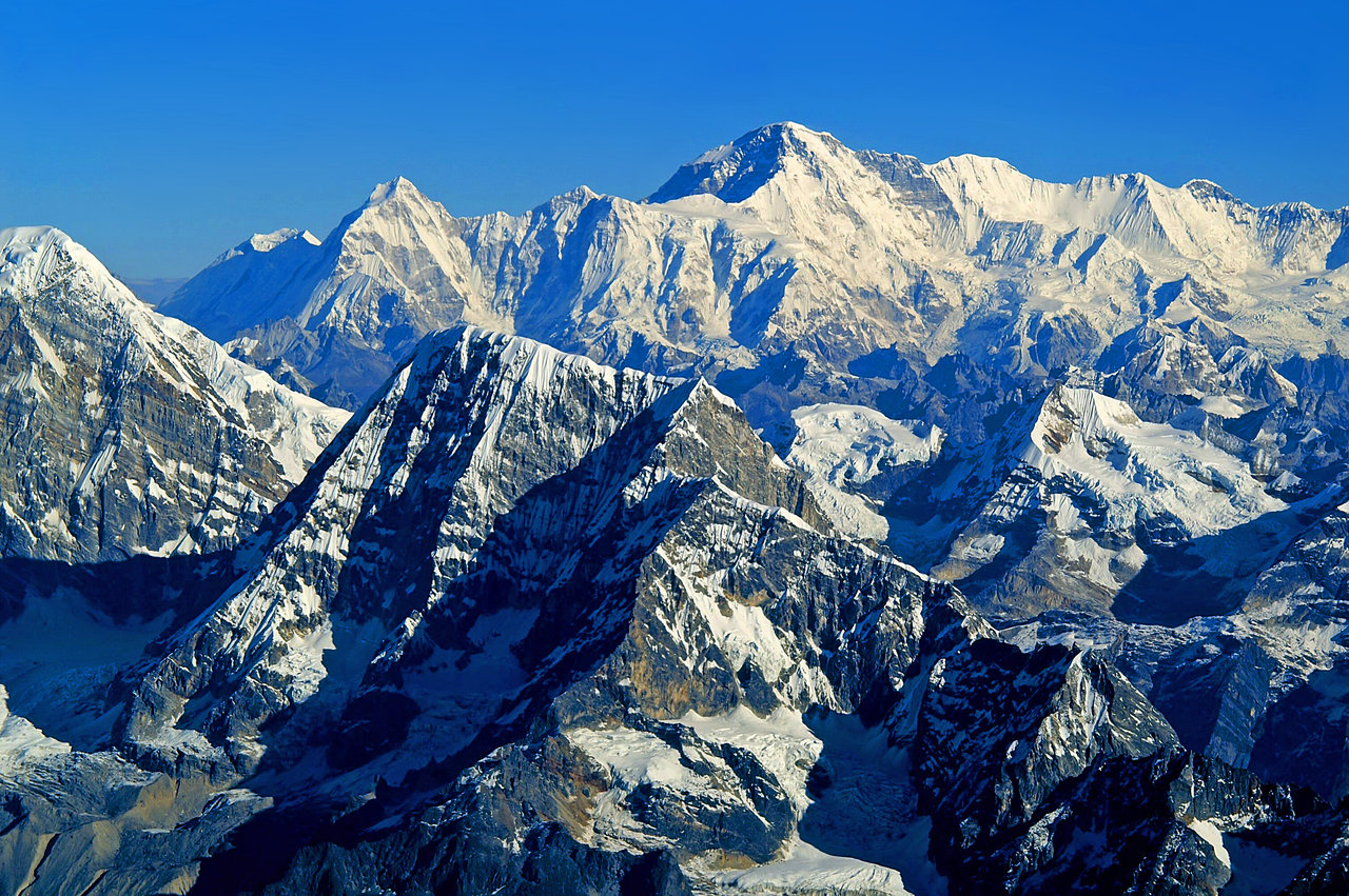 himalayas height above sea level