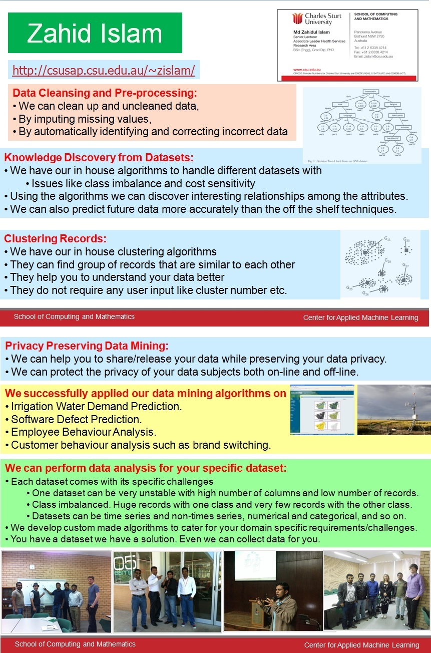 privacy handling techniques and algorithms for data mining Data mining is the process of discovering patterns in large data sets involving methods at the intersection of machine learning, statistics, and database systems.